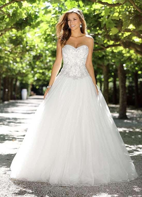stor brudekjole